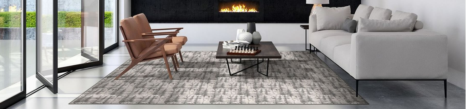 Elevation area rug in Smoke