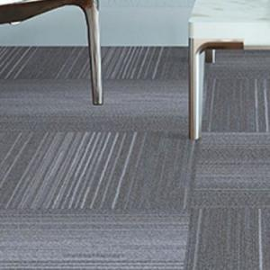 Room scene with Beaulieu Allure carpet tiles in