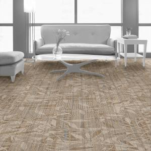 Room scene with Broadleaf carpet tiles in Terrace